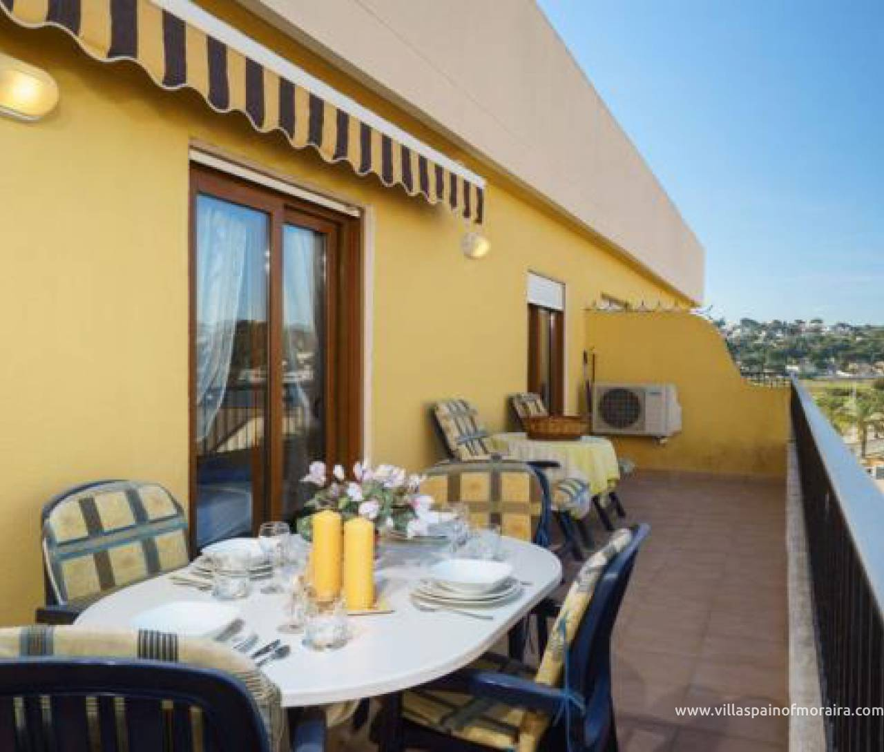 Apartment for sale in Moraira town