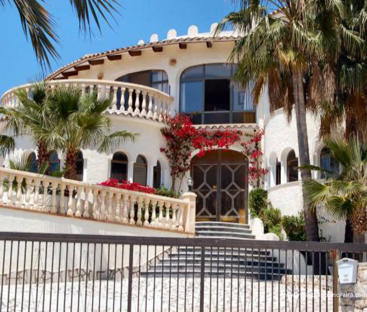 Villa for sale in San Jaime Benissa with sea views