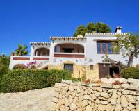 Villa for sale with sea view in La Fustera Benissa